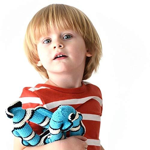 Fish. Giocattolo per bambini all'uncinetto