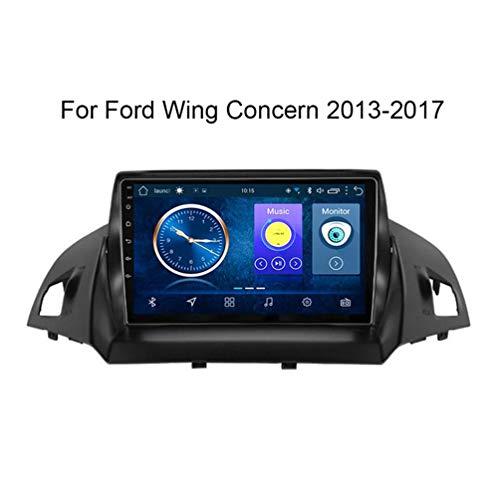 XMZWD 9 Zoll Navigation Für Auto Android 8.1 2 + 32G Auto DVD, Für Ford Kuga Escape C-Max 2013-2016 Auto GPS Navigation Unterstützung Lenkradsteuerung, Navigationsgeräte Für LKW
