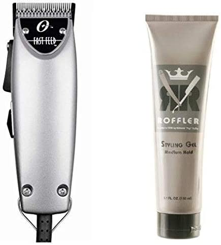 2021 New Combo Oster 2021 Fast Feed Silver discount And Roffler Styling Gel Medium Hold, 5.1 ounce outlet sale
