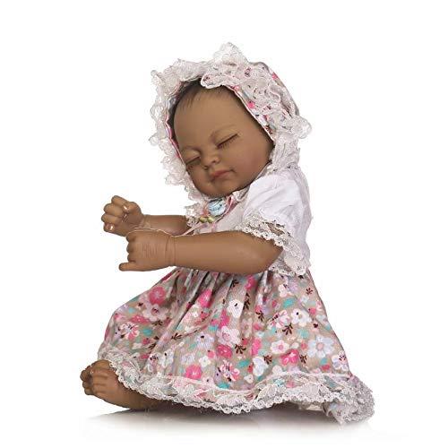 SPIDER NI Simulation von African Baby-Spielzeug, Plastikminivoll kann das Wasser, Badespielzeug, Klein Puppen, Kinder Personalisierte Kreative Geschenke Geben Sie