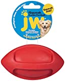 Jw Jouet Isqueak Funble Football Small, Petit Ballon De Rugby Couinant en Caoutchouc Épais pour Les Chiens pour Chien Taille S
