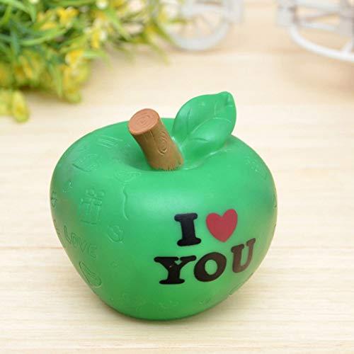 Hysxm 1 Pcs Nouveaux Cadeaux De Noël Apple Veilleuse Colorée/Warm Love Apple Lights Cadeaux De Réveillon De Noël