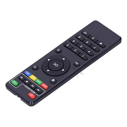 Mxzzand Botón de Silicona de Control Remoto de Caja de TV de 10 m Duradero con Control Remoto ABS para Android x96 / x96mini / x96w