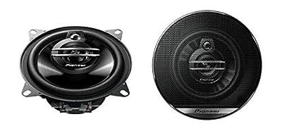 Pioneer TS-G1030F Speakers, Black from Pioneer Car Multimedia