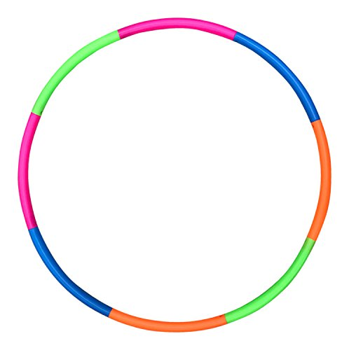 "Liberty Imports 32"" Snap Together Detachable Kids Hula Hoop for"