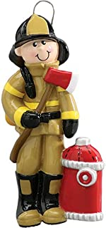 Best fireman ornaments personalized Reviews