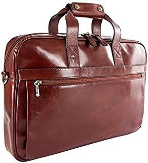 Bosca Men's Single Gusset Stringer Bag