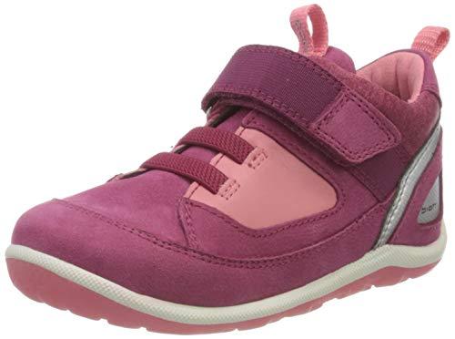Ecco Baby Mädchen BIOMMINISHOE Sneaker, Violett (Sangria/Bubblegum 51797), 24 EU