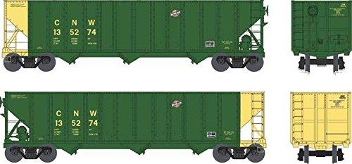 Bowser BOW41706 HO 100-Ton Hopper, C&NW/Green #135283