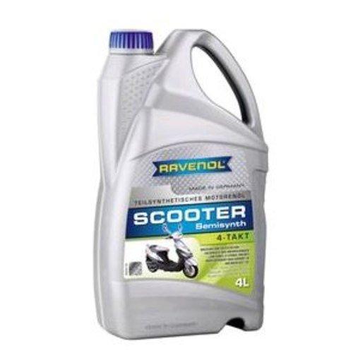 RAVENOL SCOOTER 4-Takt Teilsynthetisches, 4 Liter