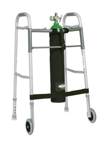 TO2TE E Size Oxygen Tank Holder for Walkers