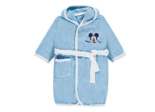 Ellepi Accappatoio in Spugna Topolino Mickey Mouse per Bambini WB2002MA (Cielo Scuro 7009, 24 Mesi)