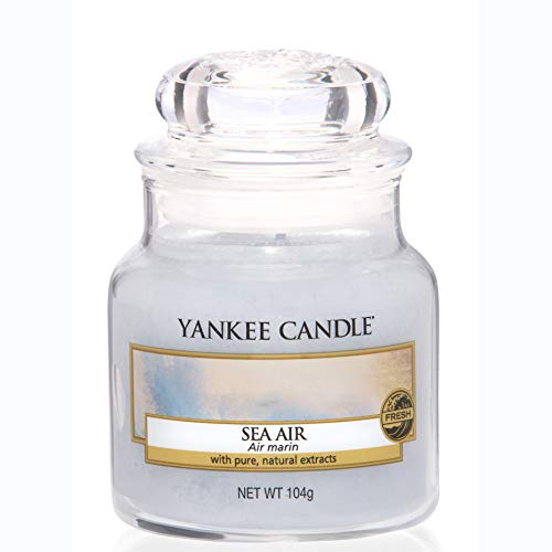 Yankee Candle Candela profumata in giara piccola | Aria di mare | Durata Fino a 30 Ore