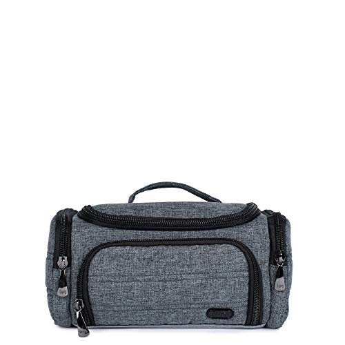 Lug Women's Trolley Mini Cosmetic Case, Heather Grey