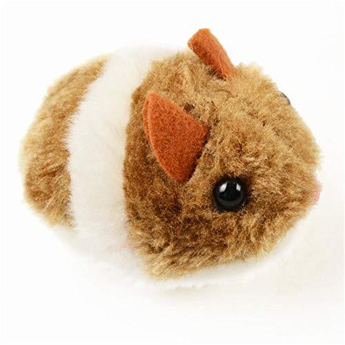 1 Stück Katzen Spielzeug Katze liefert künstliche Maus Haustierprodukte Ziehen Schwanzring Vibrieren Laufen Vorwärts Schock Schock Interaktiv-Bildershow_Einheitsgröße