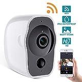 Cámara WiFi 1080p Home Security Camera de vigilancia Cámara de WiFi Interior 1080p Sistema de Seguridad de para IOS y Android con Audio Doble Vía, Detección de movimiento, Control Remoto