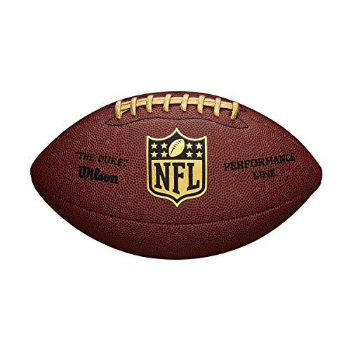 WILSON NFL Replica Game Ball The Duke Performance Line