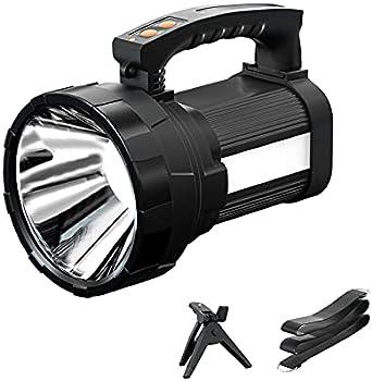 Sefon Super Bright 6000Lumen Handheld Flashlight with Foldable Tripod