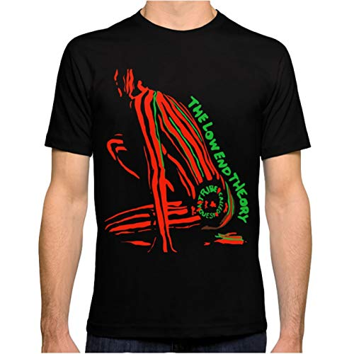 ZSHOOCL Herren a Tribe Called Quest The Low end Theory Männer T Shirt M Black
