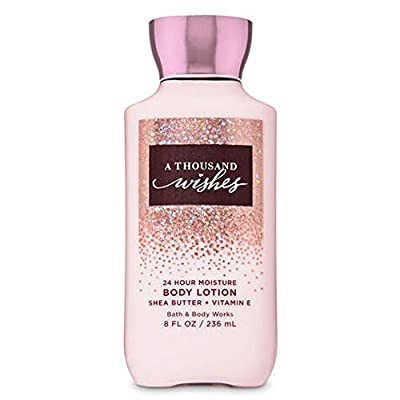 Bath & Body Works A Thousand Wishes 2019 Edition 24 hr Moisture Body Lotion with Shea Butter & Vitamin E 8 fl oz / 236 mL