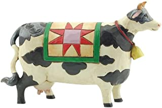 Jim Shore Heartwood Creek Mini Cow Figurine, 2.375-Inch