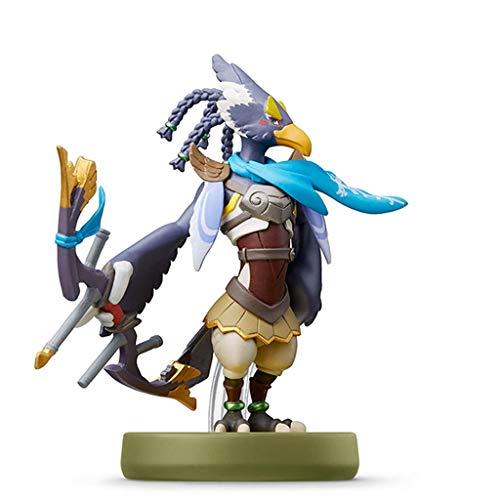 MMZ Super Smash Bros. Amiibo: Revali Figurita!Figura de acción de la Serie Super Smash Bros. Juego Obra Maestra Figura Coleccionable de importación de Japón (Wii U / 3DS / Switch)