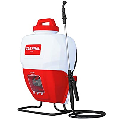 Cardinal 4 Gallon Battery Powered Backpack Sprayer with 21 Volt Lithium Ion Battery for Pest Control and Disinfectants