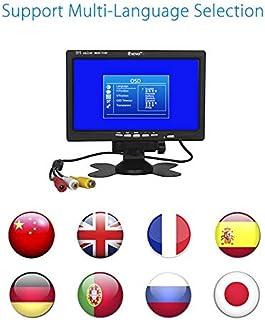 Eyoyo Eyoyo S720 7 TFT LCD Color HD Monitor Display Audio Video VGA AV RCA