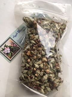 Dried herb ~ 1 oz ~ Apple blossoms ~ Ravenz Roost herb with special info on label
