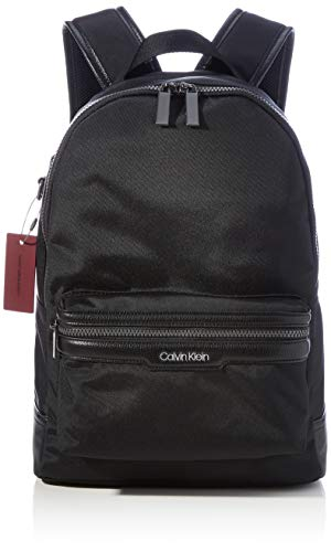 Calvin Klein Backpacks, Mochilas para Hombre, Black, One Size