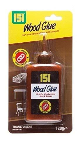 PVA-Holzleim, schnell wirkend, hohe Festigkeit, ungiftig, 120 g