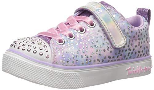 Skechers Kids Girls' Twinkle Breeze 2.0-Unicorn Sneaker, Lavendar/Pink, 11 Medium US Little Kid