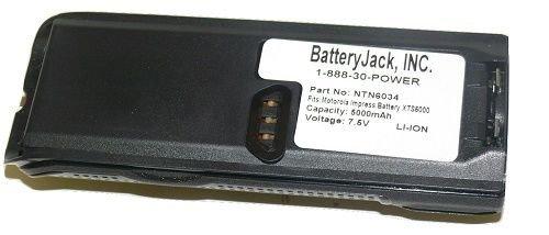 7.4v@5000MAH Li-ION Smart Battery for Motorola Radio XTS-3000 XTS-3500 XTS-5000