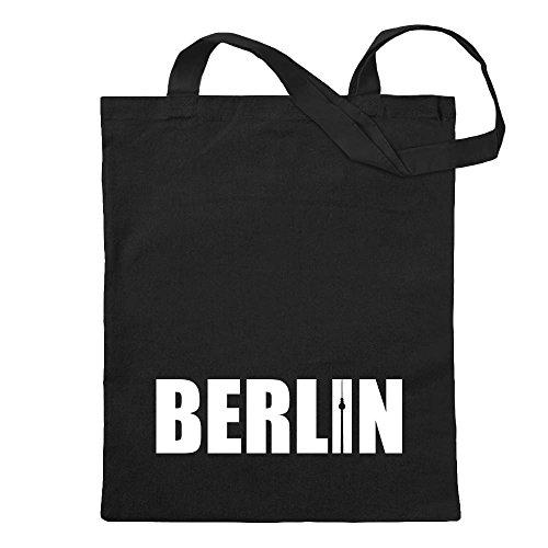 Kiwistar Berlin Schriftzug Tragetasche...