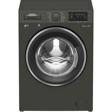 Blomberg LWF284421G 8kg 1400 Spin Washing Machine - Graphite