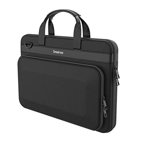 Smatree Estuche Rígido para Computadora Portátil Compatible con MacBook Pro 16 pulgada/ 2019 2018 MacBook Pro 15.4 pulgada/ Acer Predator Helios 300/ HP Pavilion 15.6 pulgada - Negro