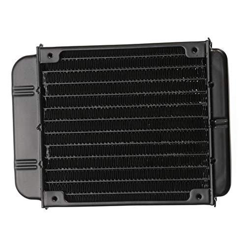 Xhtoe Computer Koeling Ventilator 120mm Aluminium Computer Water Koeling Radiator Koeler Voor CPU Koeling Zwart Standaard Case Ventilator