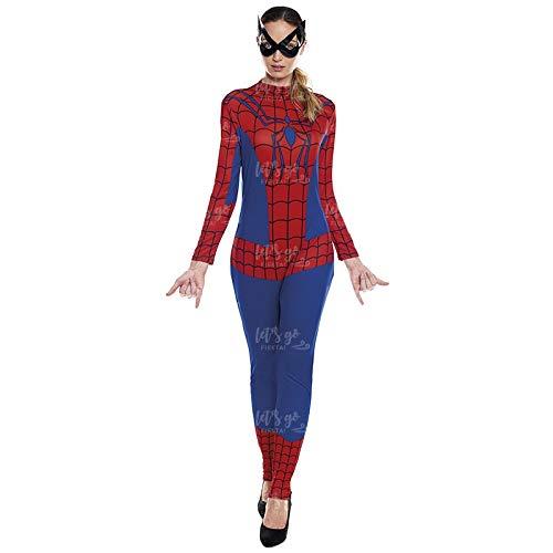 Disfraz Heroína Spider Arácnida Mujer Disfraz Superhéroe Mujer (Talla L) (+ Tallas)