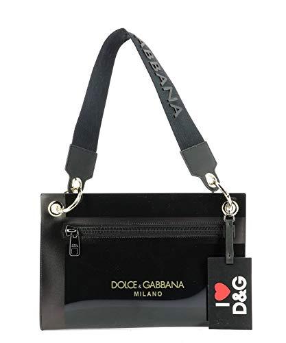 Moda De Lujo   Dolce E Gabbana Mujer BI1213AK377HNY63 Negro Fibras Sintéticas Bolso De Mano   Temporada Outlet