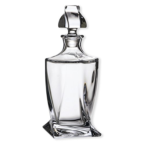 Bruno Evrard Carafe à Whisky en Verre 0,8L - Quadro