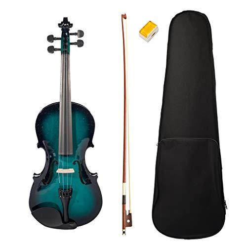 SHAND 4/4 Viool Viool lindehouten esdoorn vioolrol toets strijkstok rosin blauwe en zwarte doos instrumenten SHAND