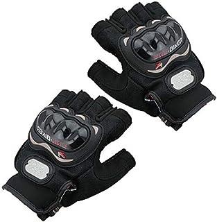 قفازات جلد صناعي لحماية اليدين اثناء ركوب الدراجة، L ،2724338547195