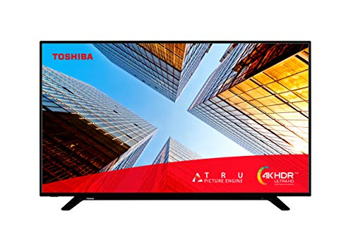 Toshiba 58UL2063DB 58-Inch Smart 4K Ultra-HD LED TV with Freeview Play (2020 Model), Black