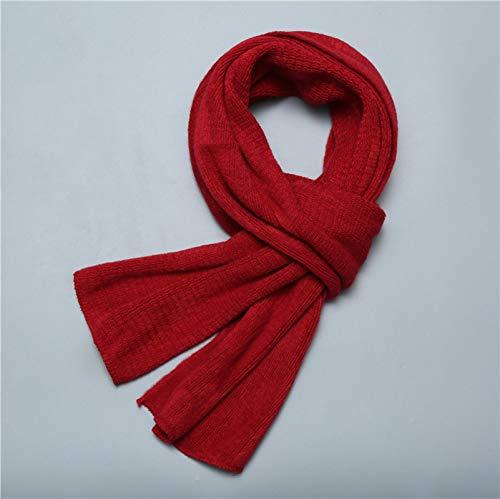 ShSnnwrl Wrap for Women Neatly Stitched Bufandas de Hombre Bufanda de Invierno de Punto chales cálidos para Mujer Foulard de tamaño Largo para m