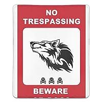 マウスパッド ゲーミングマウスパッド 滑り止め 18X22 厚い 耐久性に優れ 犬注意 おしゃれ