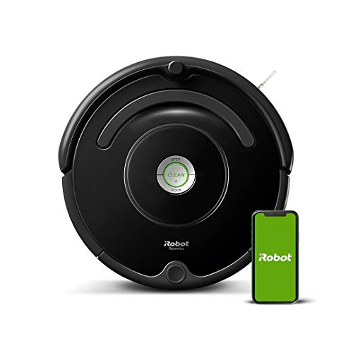 iRobot Roomba 671 Robot Vacuum Cleaner, WiFi Connected and programmable via app, Black
