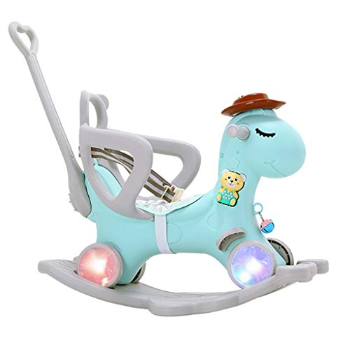 Amazing Deal Rocking horse LITING Trojan Children's Dual-use Children's Toys Baby 1-3 Years Old Gift...