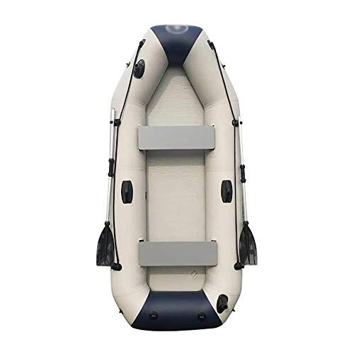 BZLLW Aufblasbares Kajak, Faltboot, 2-Person aufblasbares Kajak-Set mit aufblasbares Boot, Angler und Erholungs Sit on Top Light Weight Fishing Kayak