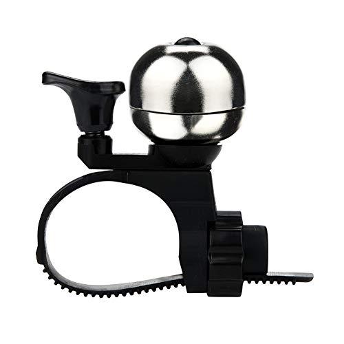 Fahrradklingel Fahrradzubehör 90db Fahrrad Klingel Unsichtbarer Fahrradlenker Glockenalarm Radfahren Fahrradlenker Ring Glockenhornglocke Horn Sound Alarm für MTB/Rennrad/BMX Schwarz