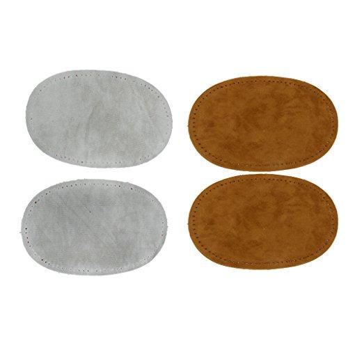 2par Parche Cosido A Mano Coderas Accesorios de Artesania Costura Herramientas